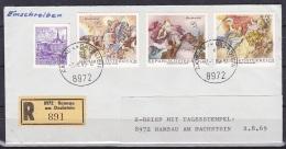 Austria/1968 - Baroque Frescoes/Barocke Fresken - 2 S - Cover 'RAMSAU AM DACHSTEIN' - FDC