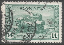Canada. 1942-48 War Effort. 14c Used. SG 385 - 1937-1952 Reign Of George VI