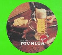 SLOVENIA Pivovarna Union  Brewery BEER COASTER Oscar Wilde  Mats - Sous-bocks