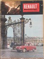 Renault Magazine N°32 (janv 1960) Succursale Nancy - Tour De Corse - JP Aumont - Bateau à Roues - Auto/Motor
