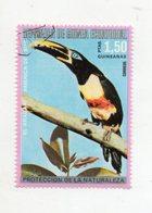 "GUINEA EQUATORIALE - 1974 - Francobollo Tematica "" Animali - Uccelli "" -  Usato - (FDC10927) - Guinea Equatoriale"