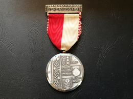 Medaille SUISSE - VERBANDSSTICH - Sport Schutzenverband Beider BASEL 1960 - Professionals / Firms
