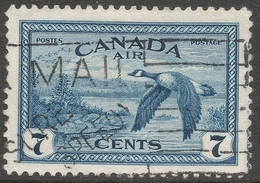 Canada. 1946-47 Peace Re-conversion. 7c Air Used. SG 407 - 1937-1952 Reign Of George VI