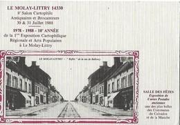 LE MOLAY-LITTRY  -  14  -  8è Salon Cartophile - Bourses & Salons De Collections