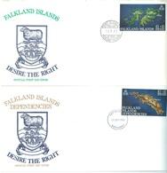 FALKLAND ISLANDS & DEPENDECIES  -  FDC - 13.9.1982 - Yv 367  -  Lot 17734 - Falkland