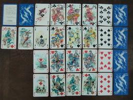 Jeu De 54 Cartes à Jouer Philibert Saint Hubert Coins Dorés Illustration Arietti Numéroté (n°1320) - Cartes à Jouer Classiques