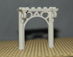 Légo Arche Décorative Fabuland Ref 2145 Blanc - Lego Technic