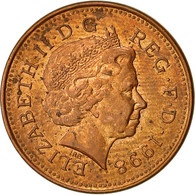 Monnaie, Grande-Bretagne, Elizabeth II, Penny, 1998, SUP, Copper Plated Steel - 1971-… : Monnaies Décimales