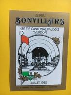 8683 - 48e Tir Cantonal Vaudois Yverdon Dorin Bonvillars Suisse - Etiquettes