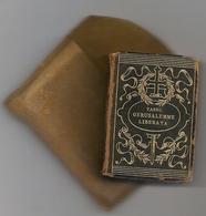 GERUSALEMME LIBERATA - T. TASSO 1904 LUXURY MINIATURE  4,5 X 6,5 Cm COMPLETE BOOK 496 Fogli - G. BARBERA - FIRENZE - Books, Magazines, Comics