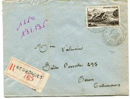 DORDOGNE De NEGRONDES   Env. Recom. De 1951   Avec Dateur B 7 - Marcophilie (Lettres)