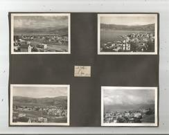 LIBAN 8 PHOTOS TIREES D'UN ALBUM1939 (BEYROUTH BAIE ET PHOTO CAMP MILITAIRE FRANCAIS T2 AU LIBAN) - Places