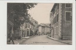 CPA - Entrée De PONTCHARRA - Pontcharra-sur-Turdine
