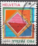 SUIZA 1991 Pro Patria - The 700th Anniversary Of The Art And Culture. USADO - USED. - Suiza