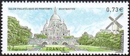 France N° 5124 ** Paris - Butte Montmartre -> Sacré Coeur, Moulin - France