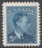 Canada. 1949-51 KGVI. 5c MH. SG 418 - Unused Stamps