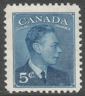 Canada. 1949-51 KGVI. 5c MH. SG 418 - 1937-1952 Reign Of George VI