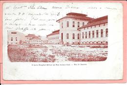 O Novo Hospital Militar Na Rua Jockey-Club - Rio De Janeiro - Rio De Janeiro