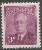 Canada. 1949-51 KGVI. 3c MH. SG 416 - Unused Stamps