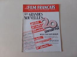 """Magazine """" Le Film Français """" N° 94, Septembre 1946 """" Les Grandes Nouvelles De 20 Th Century-Fox """" - Magazines"""