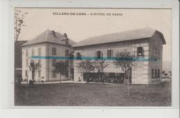 CPA - VILLARD DE LANS - L'HOTEL DE PARIS - Villard-de-Lans