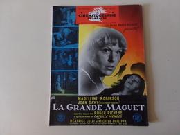 """Magazine """" La Cinématographie Française """" N° 1223, Septembre 1947 """" Madeleine Robinson Dans La Grande Maguet """" - Magazines"""