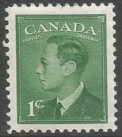 Canada. 1949-51 KGVI. 1c MH. SG 414 - Unused Stamps