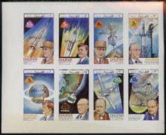 20987 Dhufar 1972 Heads Of State+Space Achievements (kennedy Churchill Telescope De Gaulle Communications) O/p APOLLO - Cinderellas