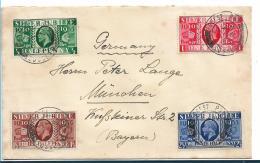 GBG048 / Refierungs Jubilee 7.5.1935 Ex Forest RUN Nach München. SELTENER FDC - Briefe U. Dokumente