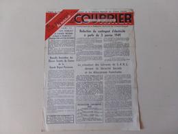 """Magazine """" Le Courrier Du Centre Du Cinéma """" N° 73, Janvier 1949 - Magazines"""