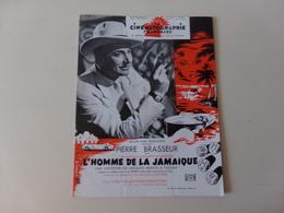 """Magazine """" La Cinématographie Française """" N° 1345, Janvier 1950 """" Pierre Brasseur Dans L'homme De La Jamaïque """" - Magazines"""