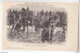 Au Plus Rapide Fêtes Franco Russes Russie Génie Détruisant Défenses D'approche Très Bon état 1901 - Manoeuvres
