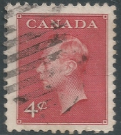 Canada. 1950 KGVI. 4c Used. SG 427 - 1937-1952 Reign Of George VI