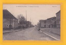SAINT-AUBIN-du-JURA -39- Avenue De La Gare - Petite Animation - Andere Gemeenten