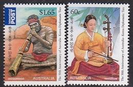 Australia ASC 2930-2931 2011 Joint Issue Australia-Korea Set MNH - 2010-... Elizabeth II