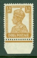 India: 1940/43   KGVI    SG269     1a 3p    MNH - 1936-47  George VI