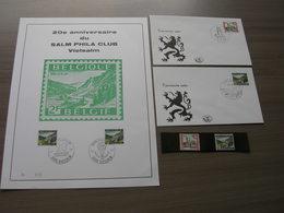 BELG.1969 1503-1504 Zegels** + FDC + Mooie Herdenkingskaart 1504 - 1961-70
