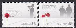 Australia ASC 2937-2938 2011 Remembrance Day Set MNH - 2010-... Elizabeth II