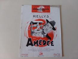 """Magazine """" La Cinématographie Française """" N° 1295, Janvier 1949 """" Rellys Dans Amédée """" - Magazines"""