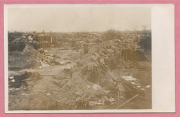 West-Vlaanderen - Flandre Occidentale - Carte Photo - Foto - LANGEMARK - Champ De Bataille - Guerre 14/18 - Carte C18 - Langemark-Poelkapelle