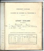 LIVRET SCOLAIRE De Roger MAISONNET Né à MAGNAC - LAVAL - Haute Vienne En 1918 - Diplomas Y Calificaciones Escolares