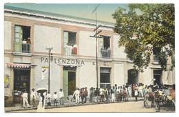 CARACAS-Etablissements PALENZONA & C....1912  Animé  Cachet-griffe VIA ST. NAZAIRE - Venezuela