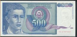 °°° JUGOSLAVIA 500 DINARA 1990 UNC °°° - Yugoslavia
