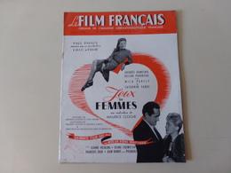 """Magazine """" Le Film Français """" N° 58 Janvier 1946 """" Jacques Dumesnil Dans Jeux De Femmes """" - Magazines"""