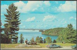 Kia Ora Cottages, Haliburton Lake, Ontario, 1970 - Alex Wilson Postcard - Ontario