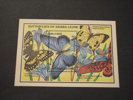 SIERRA LEONE - .... FARFALLE- NUOVO(++) - Sierra Leone (1961-...)