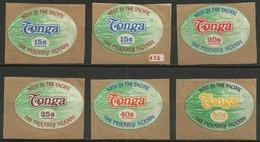 Tonga - 1972 Watermelons Set MNH   Sc 307-11 - Tonga (1970-...)