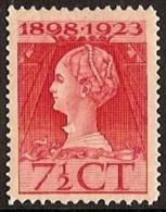 Nederland NVPH Nr 123 Postfris / MNH - Periode 1891-1948 (Wilhelmina)