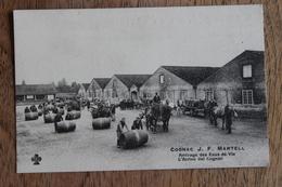 COGNAC J. F. MARTELL - ARRIVEE DES EAUX DE VIE / RAPPRESENTATO DA CARLO SALENGO TORINO - Cognac