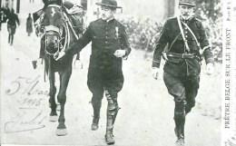 Guerre 14-18 Prêtre Belge Sur Le Front - War 1914-18